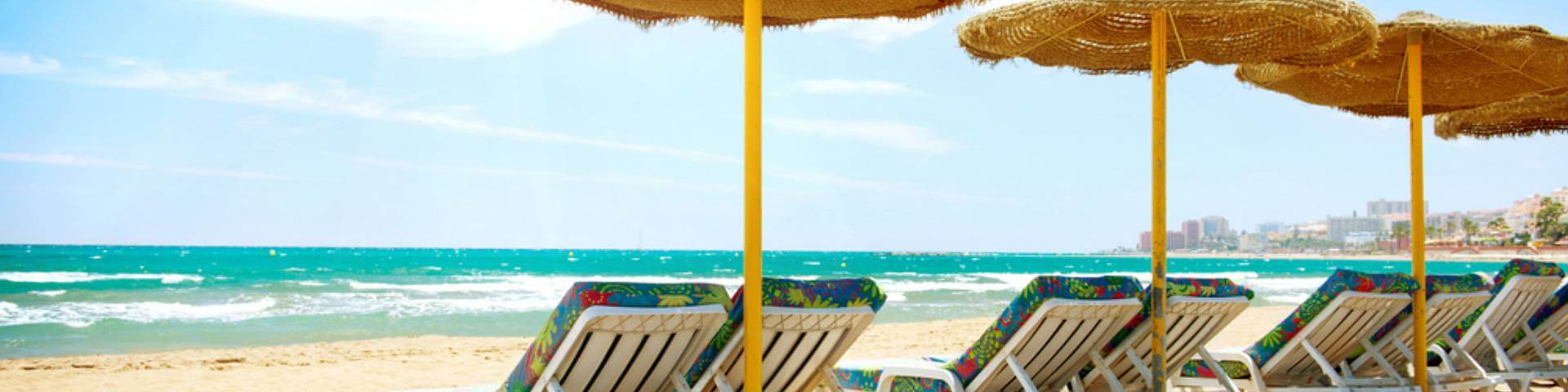 Foto sunny beach in Andalusia